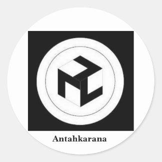 Antahkarana, Antahkarana Classic Round Sticker
