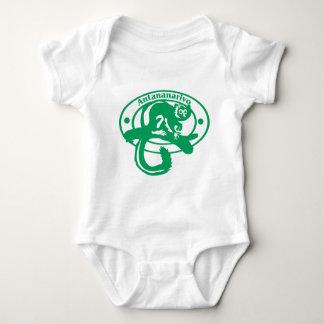 Antananarivo Stamp Baby Bodysuit