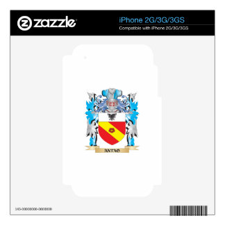 Antao Coat Of Arms Skins For The iPhone 3G