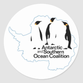 Antarctic and Southern Ocean Coalition Sticker