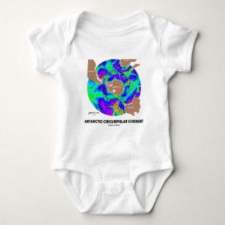 Antarctic Circumpolar Current (Ocean Current Map) Baby Bodysuit