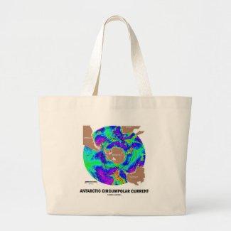Antarctic Circumpolar Current (Ocean Current Map) Bag