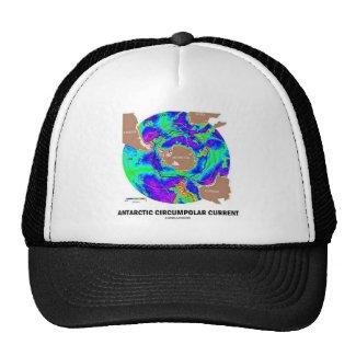 Antarctic Circumpolar Current (Ocean Current Map) Mesh Hat