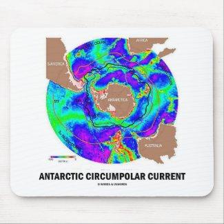 Antarctic Circumpolar Current (Ocean Current Map) Mousepads