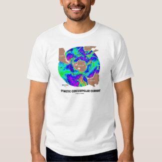 Antarctic Circumpolar Current (Ocean Current Map) T Shirt