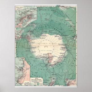 Antarctic Continent Posters
