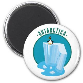 Antarctic Iceberg 2 Inch Round Magnet