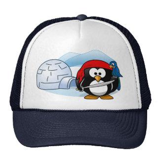 Antarctic Pitate Penguin Trucker Hats