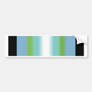 Antarctic Service Ribbon Bumper Sticker