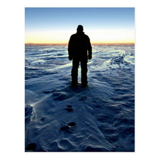 Antarctic Sunset Postcard