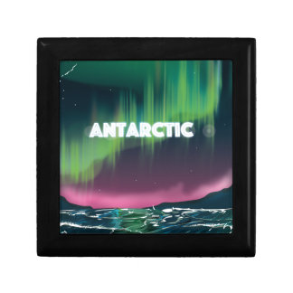 Antarctic Travel Poster Keepsake Box