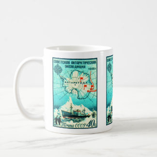 Antarctica 1956 coffee mug