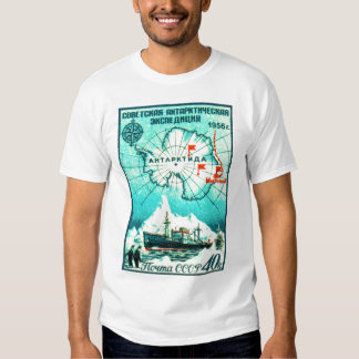 Antarctica 1956 t shirt