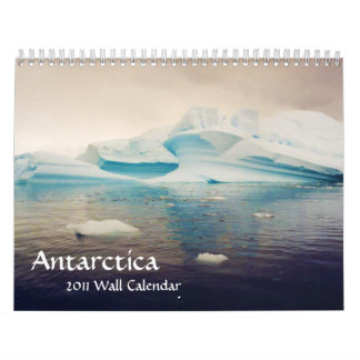 Antarctica, 2011 wall calendar