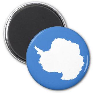 antarctica 2 inch round magnet