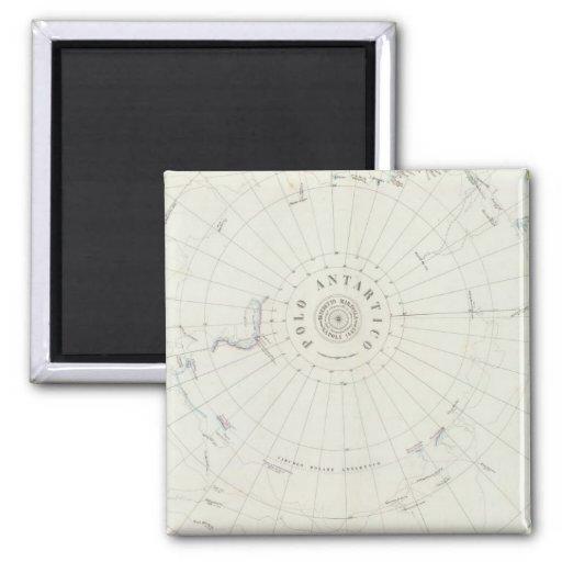 Antarctica 2 Inch Square Magnet