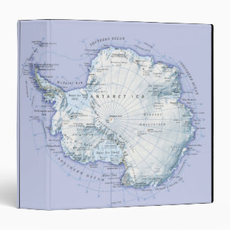 Antarctica 3 Ring Binder