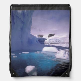 Antarctica. Antarctic icescapes 2 Drawstring Bag