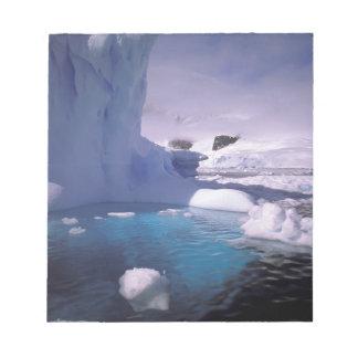 Antarctica. Antarctic icescapes 2 Note Pad