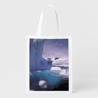 Antarctica. Antarctic icescapes 2 Reusable Grocery Bag