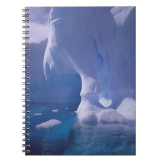 Antarctica. Antarctic icescapes 3 Spiral Notebooks