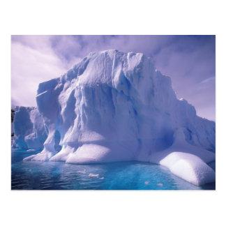 Antarctica. Antarctic icescapes Postcard
