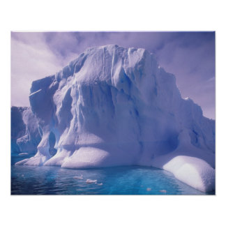 Antarctica. Antarctic icescapes Print