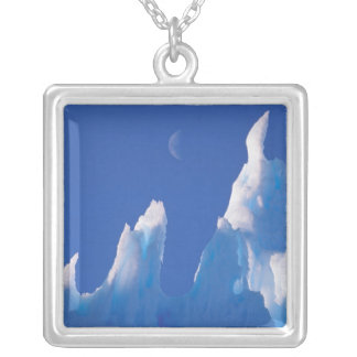 Antarctica, Australian Antarctic Territory. Silver Plated Necklace