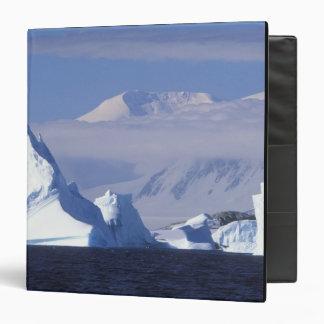 Antarctica, Boothe Island, Afternoon sun 3 Ring Binder