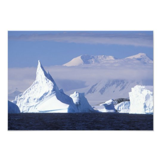 Antarctica, Boothe Island, Afternoon sun Photo Print