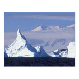 Antarctica, Boothe Island, Afternoon sun Postcard