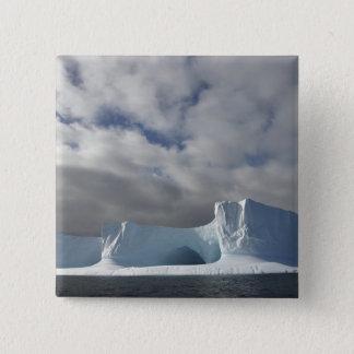 Antarctica, Bransfield Strait, Afternoon sun Pinback Button