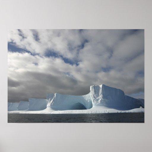 Antarctica, Bransfield Strait, Afternoon sun Poster