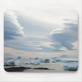 Antarctica. Brown Bluff. Lenticular clouds Mouse Pad