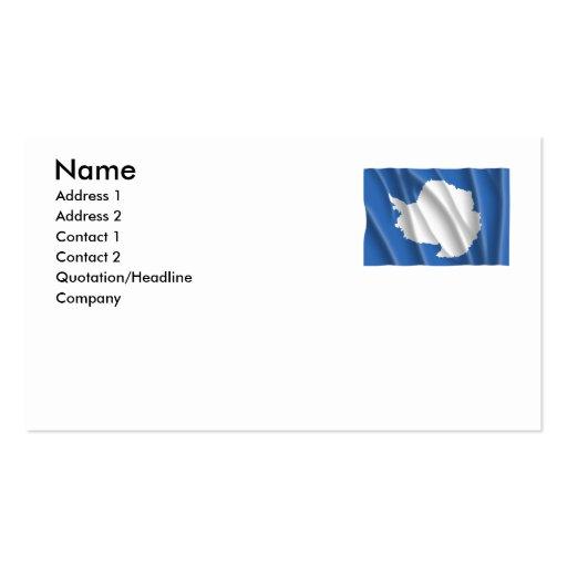 ANTARCTICA BUSINESS CARD