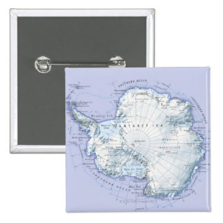 Antarctica Pinback Button