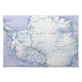Antarctica Cloth Placemat