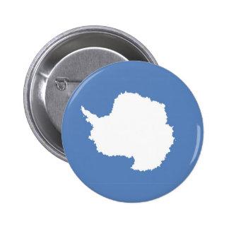 Antarctica continent flag symbol pinback buttons