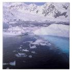 Antarctica. Expedition through icescapes Ceramic Tile