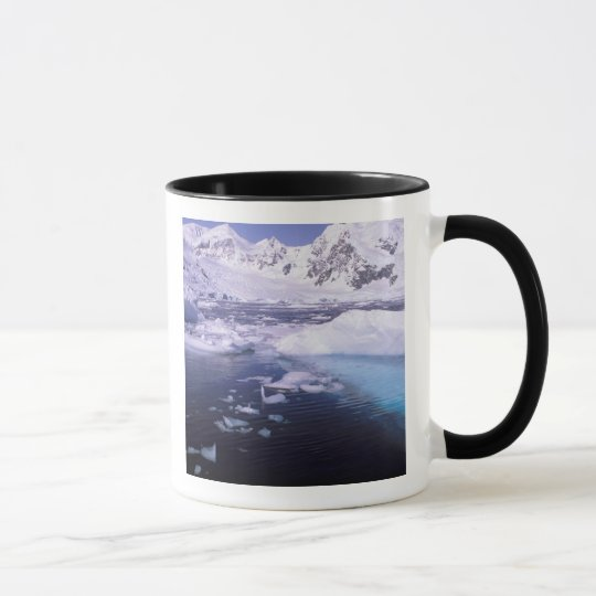 Antarctica. Expedition through icescapes Mug