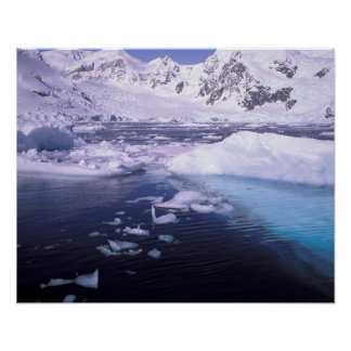 Antarctica. Expedition through icescapes Posters