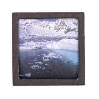 Antarctica. Expedition through icescapes Premium Keepsake Box