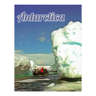 Antarctica explorer letterhead