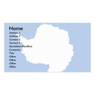 Antarctica Flag Business Card
