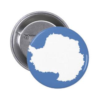 Antarctica Flag Pinback Button