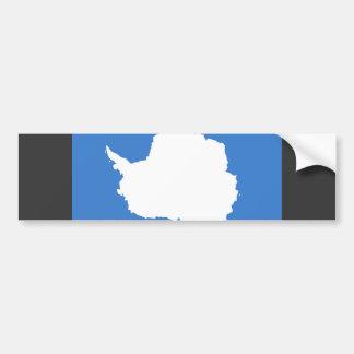 Antarctica Flag Car Bumper Sticker