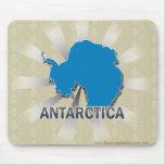 Antarctica Flag Map 2.0 Mousepads