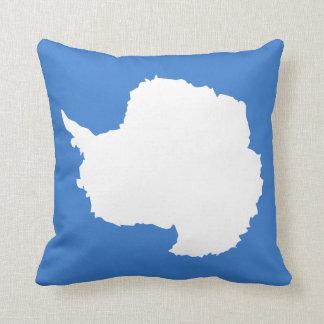 Antarctica Flag pillow