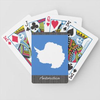 Antarctica Flag Playing Cards Bicycle Playing Cards