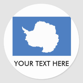 Antarctica Flag Sticker